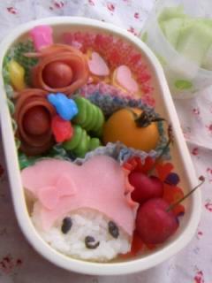 幼稚園弁当 メロディーちゃん