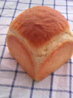 絹とけ食パン 正角フッ素食パン型 全体