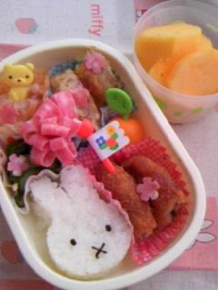幼稚園弁当 ミッフィーちゃん