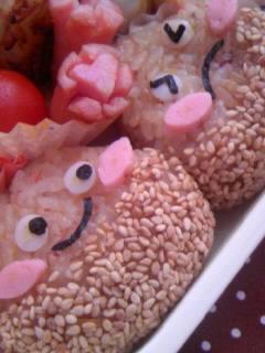 幼稚園弁当 くりくり弁当 栗ちゃんアップ