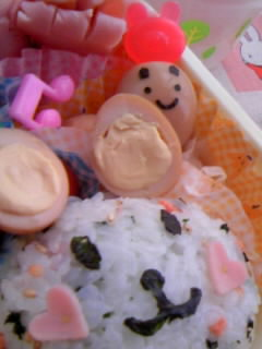 幼稚園弁当 うさちゃん弁当 うさちゃんアップ