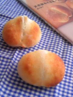 ホシノ酵母 酵母とお菓子の本から ルバン・プティ 二個、失敗。。
