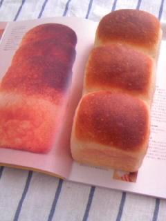 ホシノ酵母 酵母とお菓子の本から イギリスパン 本と全体