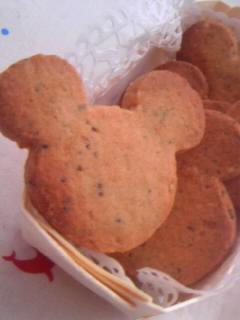 オリジナル 黒ゴマサブレクッキー 全体