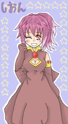 粉砂糖さん宅ムウマ♀紫苑さん