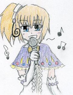 「わたくしの歌声に感動できないわけないわよね^^」