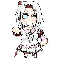 「くらえ!雛パーンチ☆」