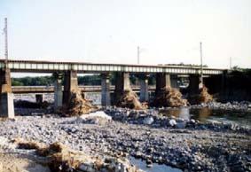 余笹川水害