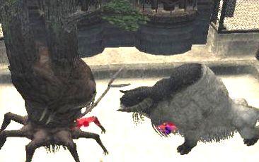 でか木vs雄羊