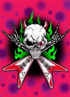 Skull Guiter