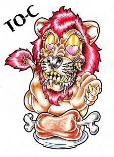 ライオンの好物