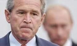 ブッシュ「ゾクッ・・・!?」 プーチン「・・・・・・・・。」
