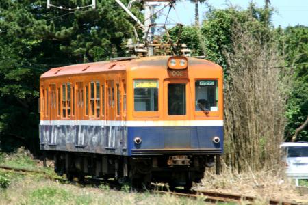 鉄子カラーのデハ1002