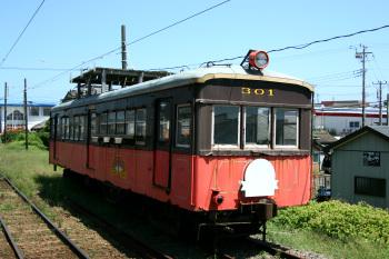 外川駅のデハ301