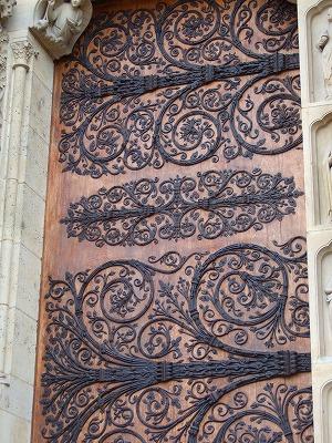 ノートルダム大聖堂の扉
