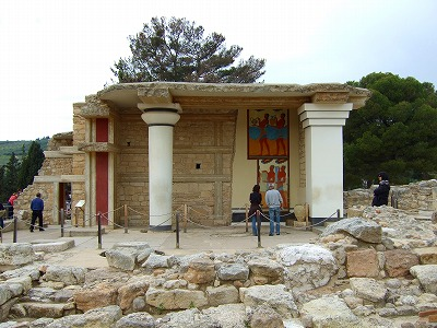 クノッソス遺跡