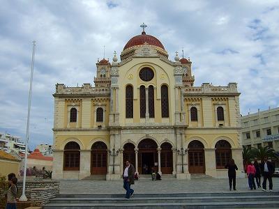 聖ミナス教会 正面