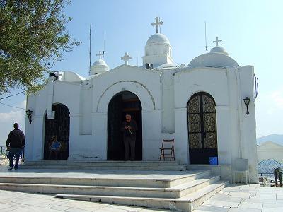 リカヴィトス頂上にある教会
