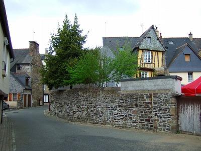 Fougèresの街