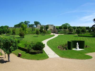 アンボワーズ城 庭園