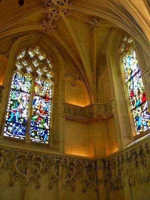 サン・テュベール礼拝堂 内部