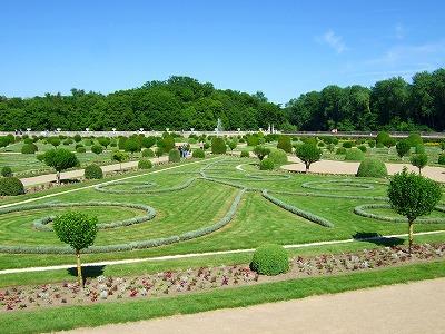 ディアーヌ・ド・ポワティエの庭園