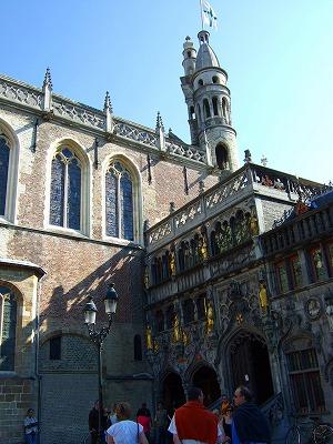 聖血礼拝堂入口