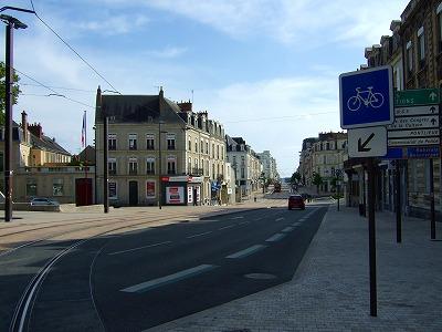 ル・マンの街