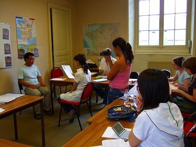 語学学校 授業風景