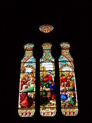 サン・ジョセフ教会ステンドグラス