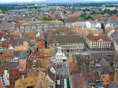 大聖堂から見た旧市街