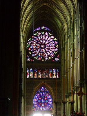 ランスの大聖堂内