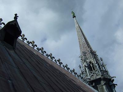 大聖堂の屋根