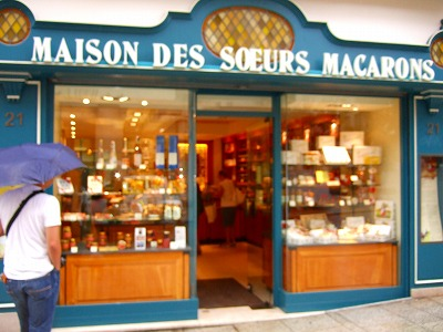 元祖マカロンのお店