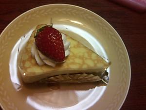 セダムンのケーキ
