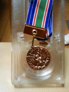 ピカピカのメダル