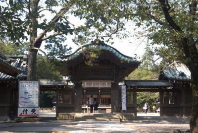 三島大社神門。
