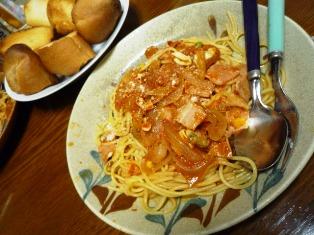 080601 トマトスパゲティ
