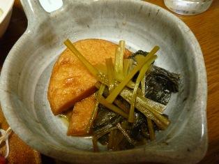 080624 小松菜と平天のさっと煮