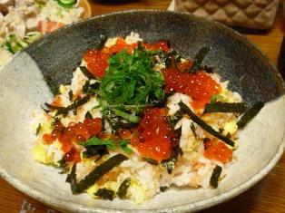 080703 鮭のちらし寿司
