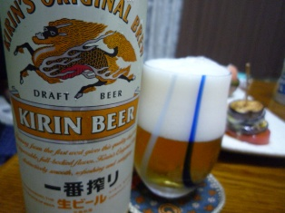 080704 本日ビール