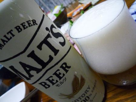 080713 本日ビール