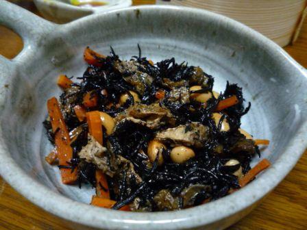 080727 ひじきの煮物