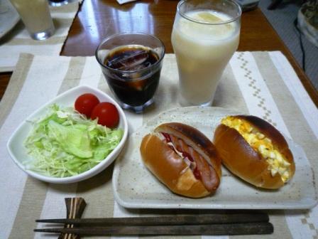 080804 朝ご飯