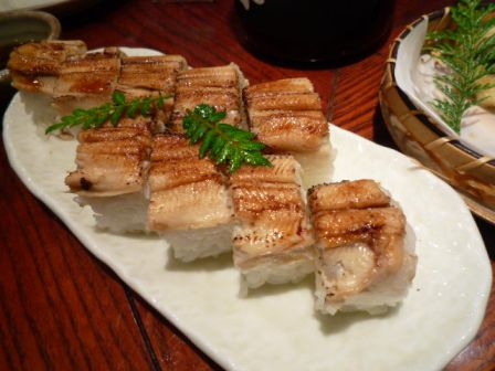 080817 あなごの棒寿司