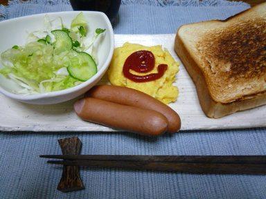 080826 朝ご飯