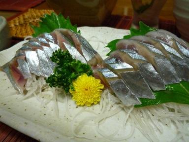 080826 秋刀魚の刺身
