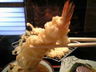 田川天ぷら定食004