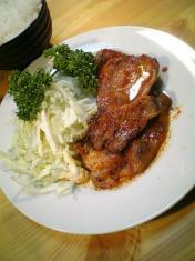 豚ロースの ケチャップ炒め003