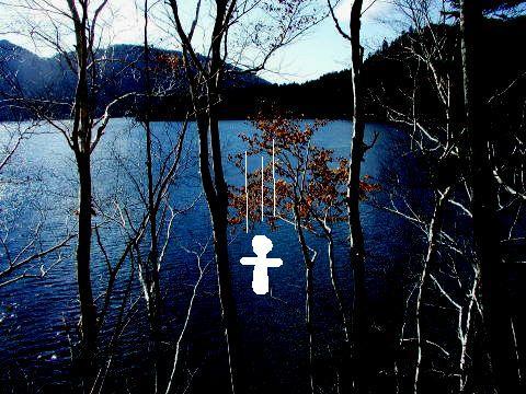 然別湖湖畔